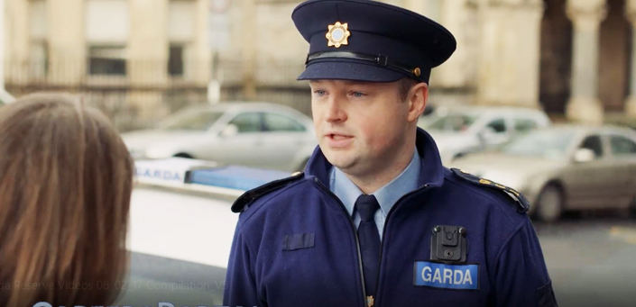 Working with the Garda Reserve