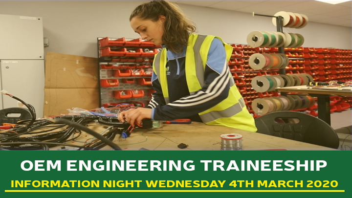 Combilift OEM Traineeship Information Evening