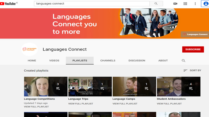 Subscribe to Languages Connect on YouTube