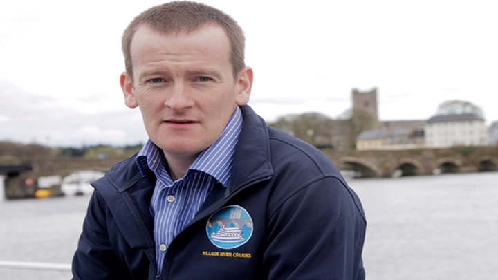 James Whelan, Owner of Killaloe River Cruises