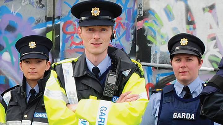 An Garda Síochána: Working on the Front Line