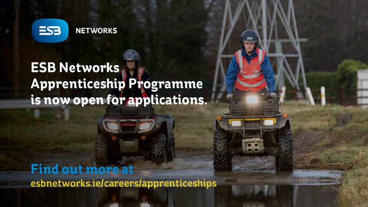 ESB Apprenticeship Programme 2020 Now Open
