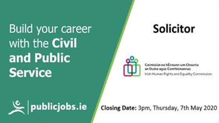Junior Solicitor Vacancy - Irish Human Rights and Equality Commission