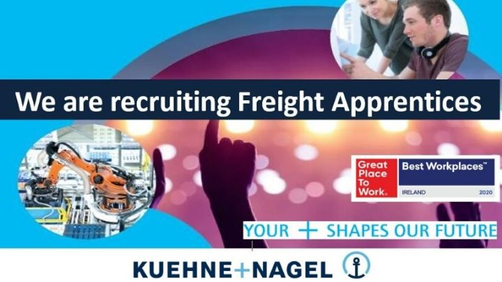 Kuehne + Nagel Looking to Recruit Logistics Apprentices